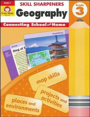 Skill Sharpeners: Geography, Grade 3   -