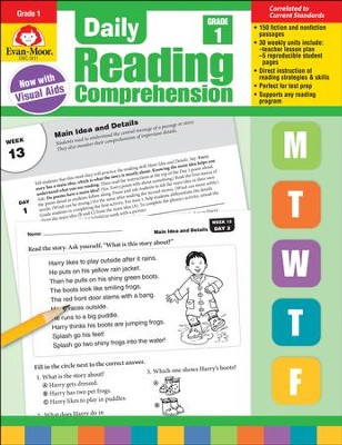 Daily Reading Comprehension, Grade 1 (2018 Revision)   -
