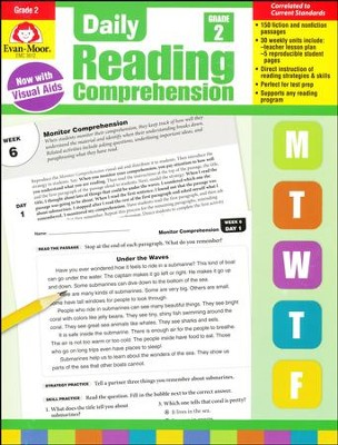 Daily Reading Comprehension, Grade 2 (2018 Revision)   -