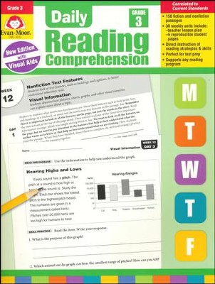 Daily Reading Comprehension, Grade 3 (2018 Revision)   -
