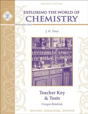 Exploring the World of Chemistry Teacher Key & Tests, Second Edition  -     By: Cooper Boldrick