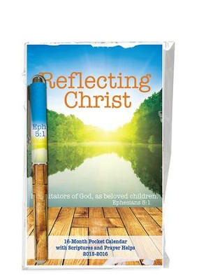 Reflecting Christ, Pocket Planner and Pen Gift Set  -