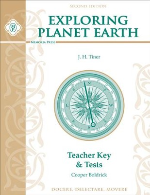 Exploring Planet Earth Teacher Key & Tests, Second Edition  -     By: Cooper Boldrick