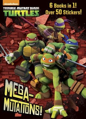 Mega-Mutations! (Teenage Mutant Ninja Turtles)  -     By: Golden Books     Illustrated By: Golden Books