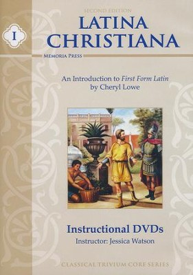 Latina Christiana 1 DVDs, set of 3, Second Edition   -     By: Jessica Watson
