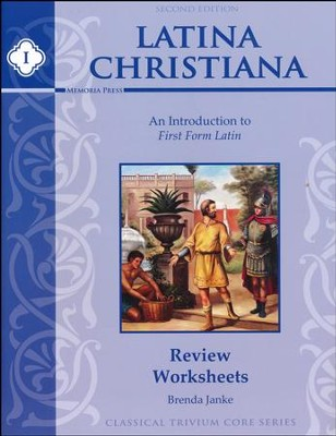 Latina Christiana Review Worksheets 1 (2nd Edition)  -     By: Brenda Janke