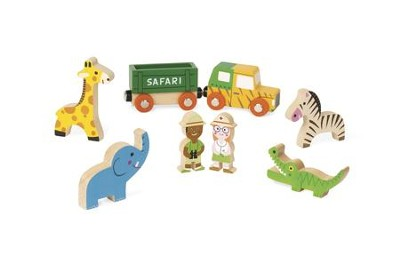 Mini Story Safari, 8 Pieces  -