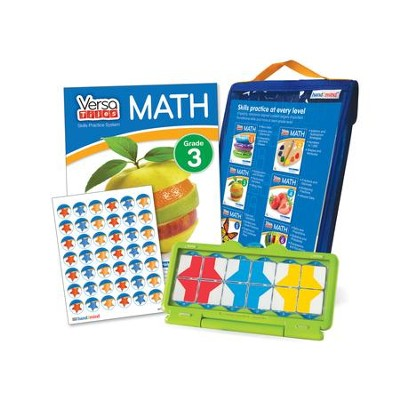 VersaTiles Math Skill Practice Kit Grade 3 (At Home Edition)  -