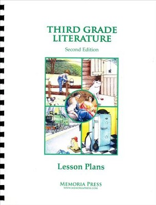 3rd Grade Literature Lessons Plans (2nd Edition)   -