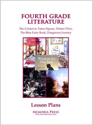 4th Grade Literature Lesson Plans   -