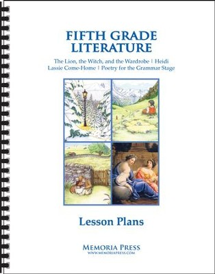5th Grade Literature Lesson Plans   -
