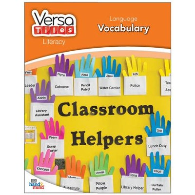 VersaTiles Literacy Book Grade 1: Language Vocabulary   -