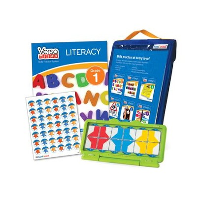 VersaTiles Literacy Skill Practice Kit Grade 1 (At Home Edition)  -