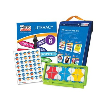 VersaTiles Literacy Skill Practice Kit Grade 6 (At  Home Edition)  -