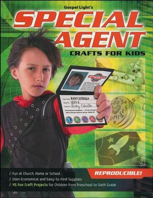 SonForce Special Agent Craft Book  -