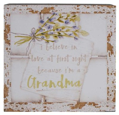 Through Window Love At First Sight >> I Believe In Love At First Sight Because I M A Grandma Window Box