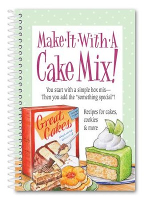 Make It With a Cake Mix Book  -