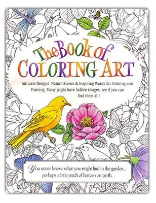 Nature Coloring Book for Adults  -