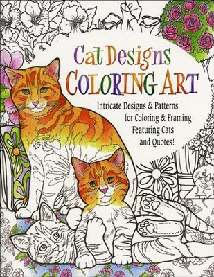 Cat Coloring Book for Adults  -