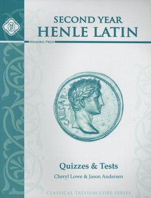 Second Year Henle Latin Quizzes & Tests   -     By: Cheryl Lowe, Jason Andersen