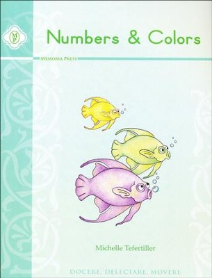 Numbers & Colors Book   -     By: Michelle Tefertiller