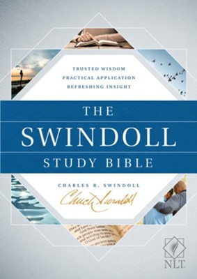 The NLT Swindoll Study Bible, Hardcover  -     By: Charles R. Swindoll