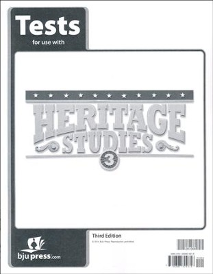 Heritage Studies 3 Tests (3rd Edition)   -