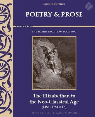 Poetry & Prose Book 2: The Elizabethan to the NeoClassical Age, 2nd Edition   -