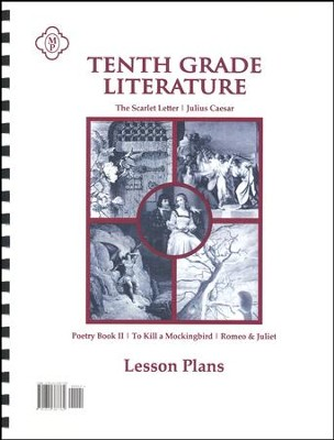 10th Grade Literature Lesson Plans   -