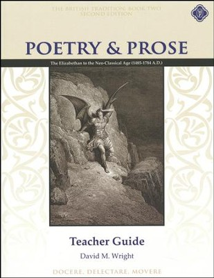 Poetry & Prose Book 2: The Elizabethan to the  Neo-Classical Age, Teacher Guide (2nd Edition)  -