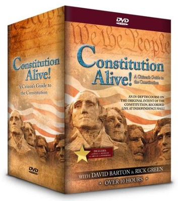 Constitution Alive! A Citizen's Guide to the  Constitution--DVD  -     By: David Barton, Rick Green