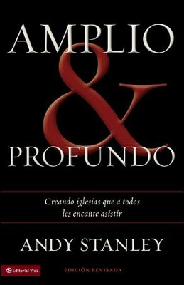 Amplio y Profundo, eLibro  (Deep & Wide, eBook)  -     By: Andy Stanley
