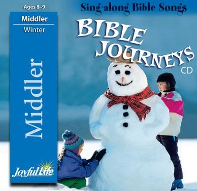 Bible Journeys Middler (Grades 3-4) Audio CD   -