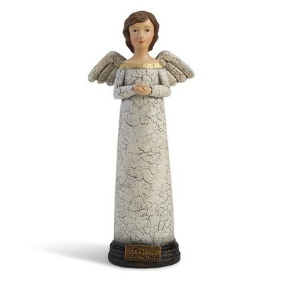 First Communion Prayer Angel Figurine  -     By: Teresa Kogut