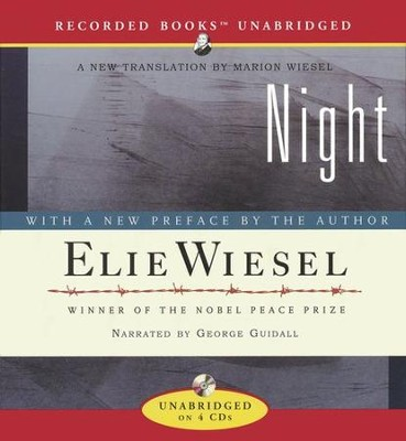 Night - Audiobook on CD   -     Narrated By: George Guidall     By: Elie Wiesel