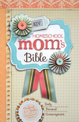 KJV Homeschool Mom's Bible - eBook  -     By: Zondervan
