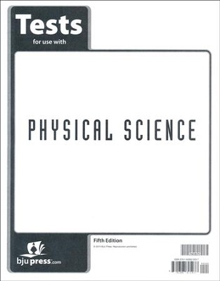 Physical Science Tests (5th Edition)   -
