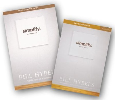 Simplify DVD with Participant's Guide   -     By: Bill Hybels