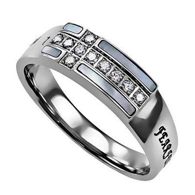 Ensign Ring, Praise, Fearfully and Wonderfully Made, Size 8  -