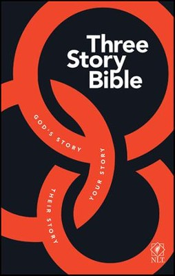NLT: Three Story Bible, hardcover  -