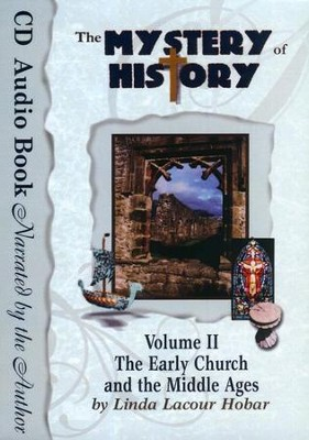 The Mystery of History Volume 2 Audio Book Set (12 Audio CDs)  -     By: Linda Lacour Hobar