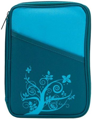 Thinline Turquoise Bible Cover  -