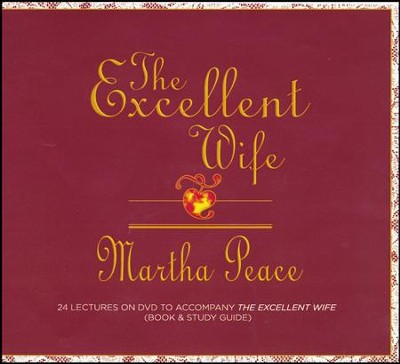 The Excellent Wife DVD Supplement Guide   -     By: Martha Peace