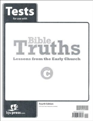 Bible Truths Level C Tests (4th Edition)   -