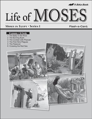 Extra Moses in Egypt (Life of Moses Series 1) Lesson Guide  -