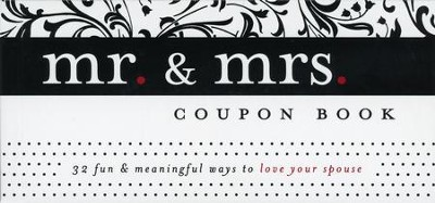 Mr. & Mrs. Coupon Book  -