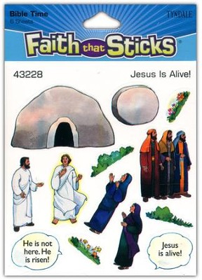 Stickers: Jesus Is Alive  -