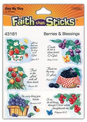 Stickers: Berries & Blessings  -