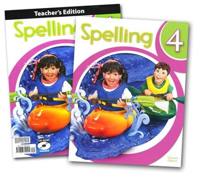 BJU Press Spelling Grade 4 Kit (2nd Edition)  -