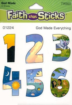 Stickers: God Made Everything  -